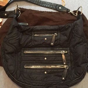 Tods nylon shoulder and crossbody